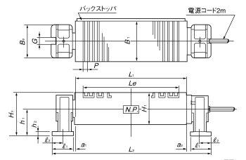 KET-U尺寸图