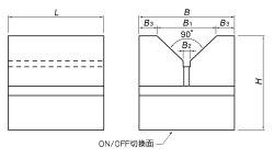 KMV-M 寸法図